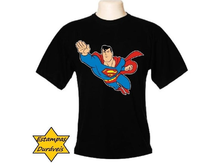 Camiseta superman, Camiseta super homem,