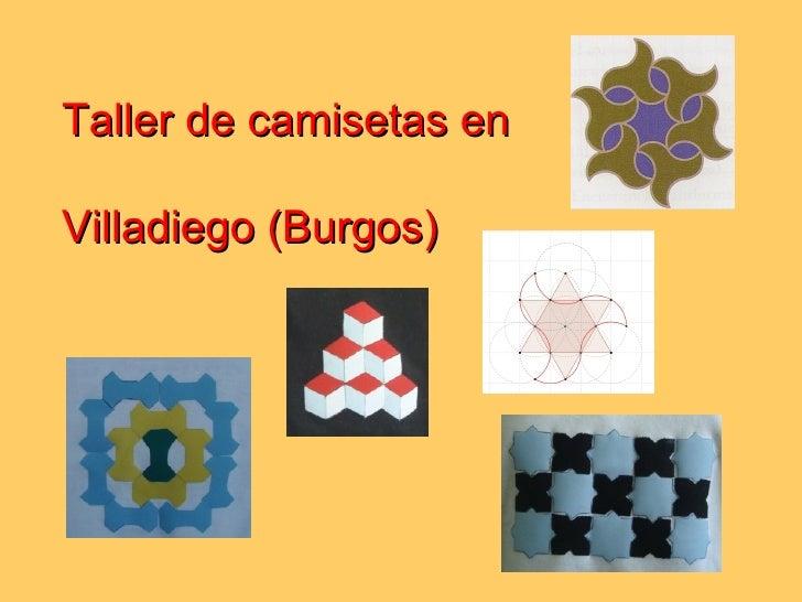 Taller de camisetas en  Villadiego (Burgos)