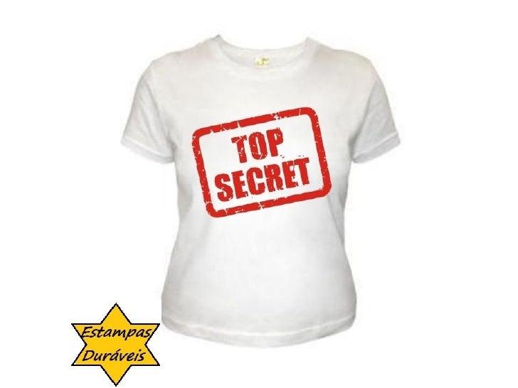 Camiseta top secret,    frases camiseta