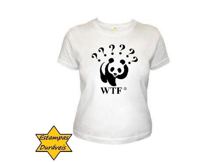 Camiseta wtf, frases camiseta