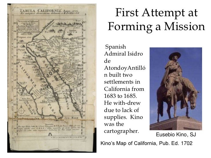 California Missions Slide 3