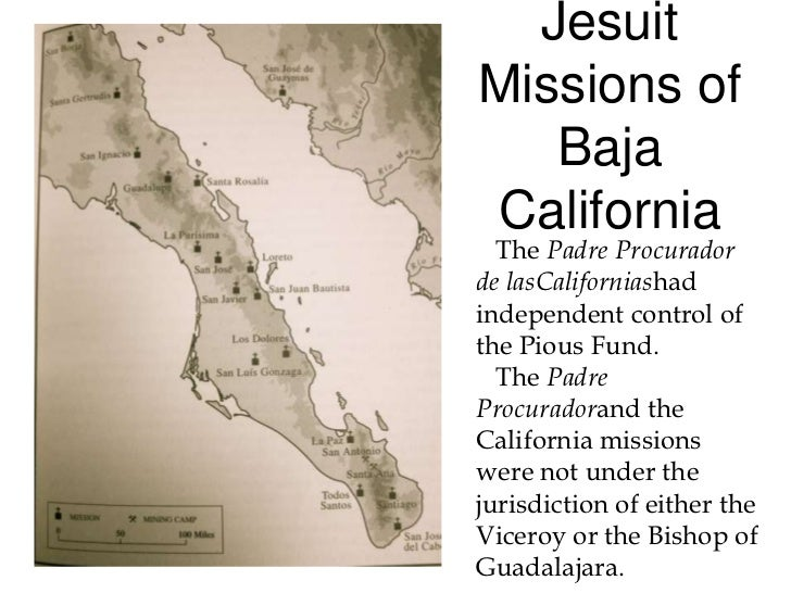 California Missions - California missions map