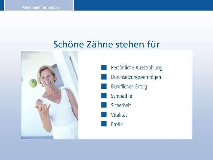 Patienteninformation über Zahnimplantate Slide 2