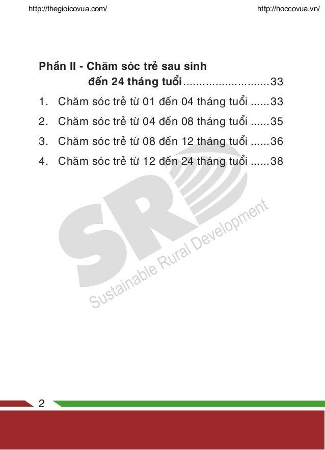 Cẩm Nang Sức Khỏe Bà Mẹ Trẻ Em Slide 2