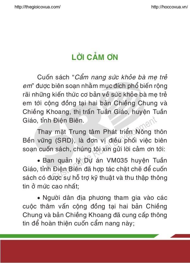 Cẩm Nang Sức Khỏe Bà Mẹ Trẻ Em Slide 3