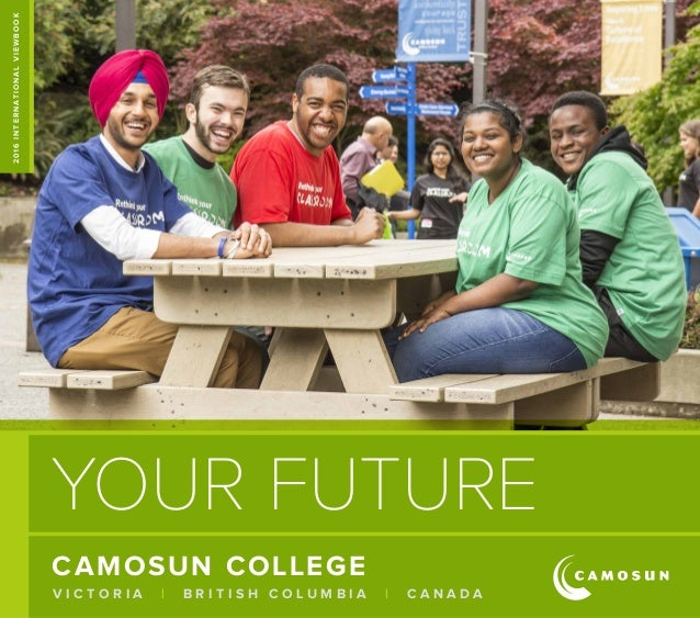 Camosun college viewbook 2016