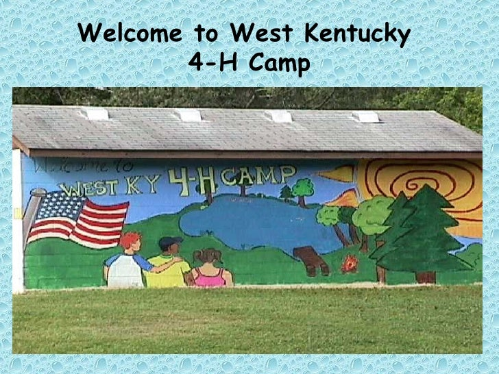 Welcome to West Kentucky  4-H Camp