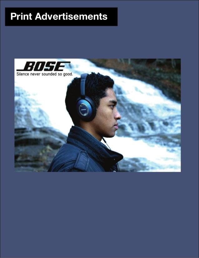 Bose Ad Campaign