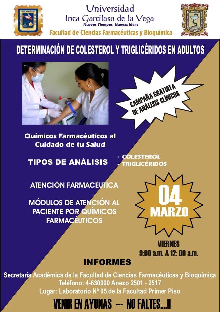 Universidad                     Inca Garcilaso de la Vega                            Nuevos Tiempos. Nuevas Ideas         ...
