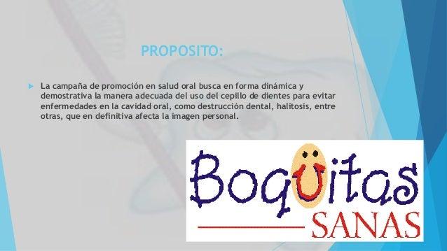 Campaña De Promoción De La Salud Oral