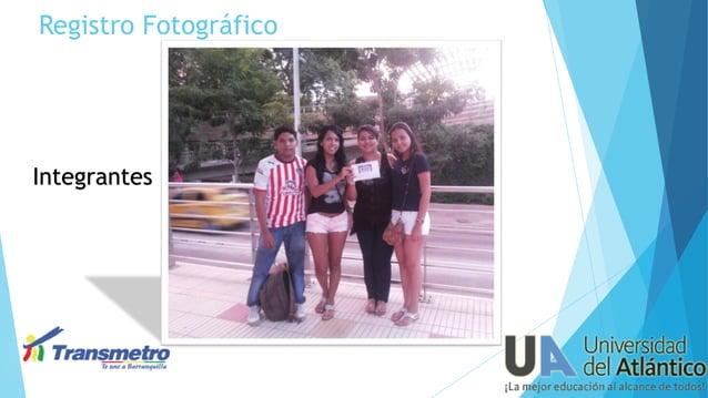 Registro Fotográfico  Integrantes