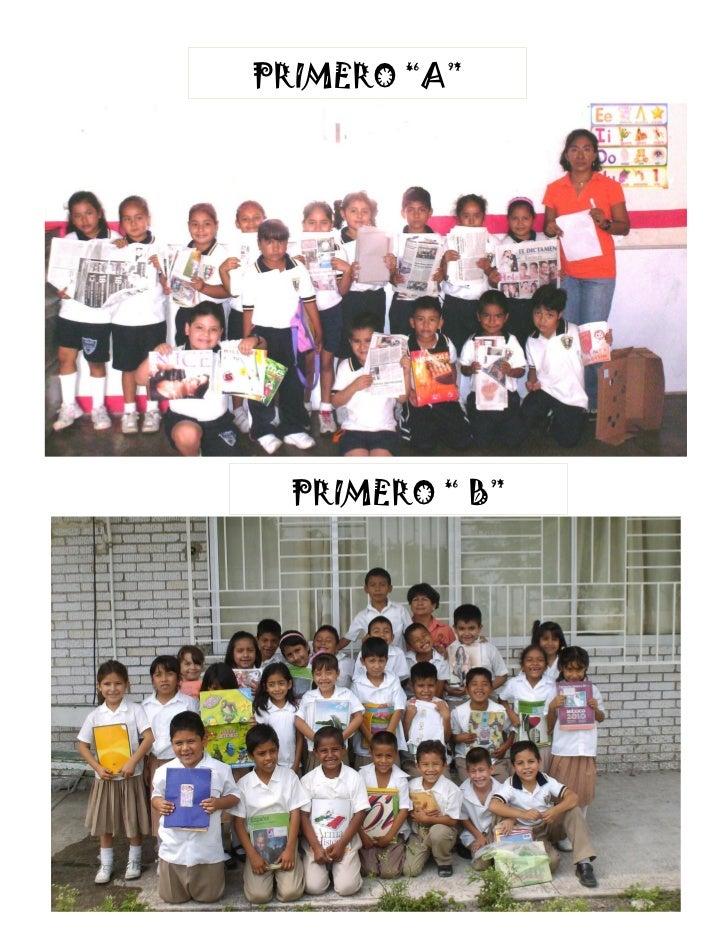 """PRIMERO """"A""""  PRIMERO """" B"""""""