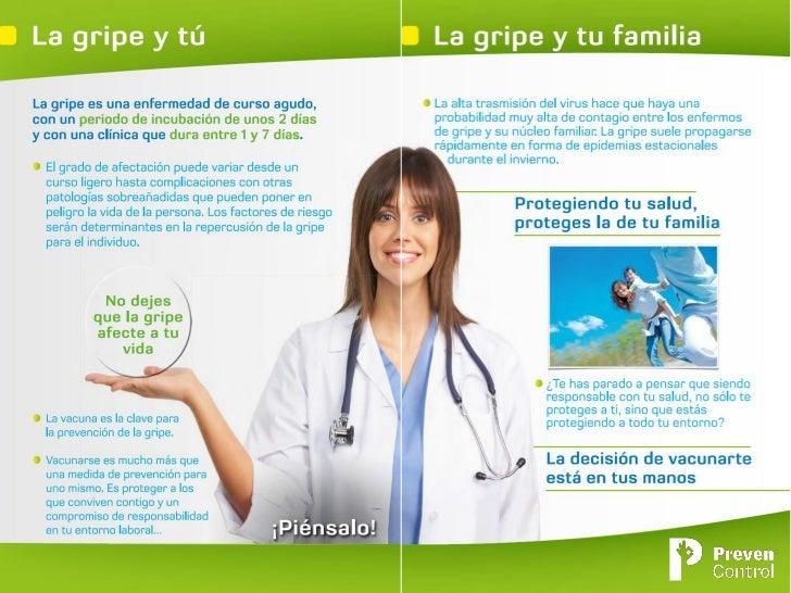 Campaña PrevenControl Gripe 2012