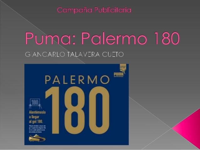  El objetivo era consolidar el vínculo entre el ídolo Martín Palermo y Puma. En un escenario donde Nike cuenta con enorme...
