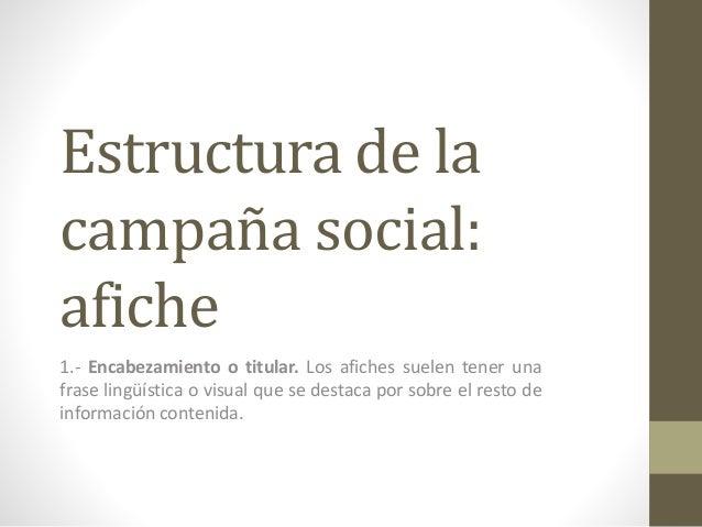 Campaña social Slide 3