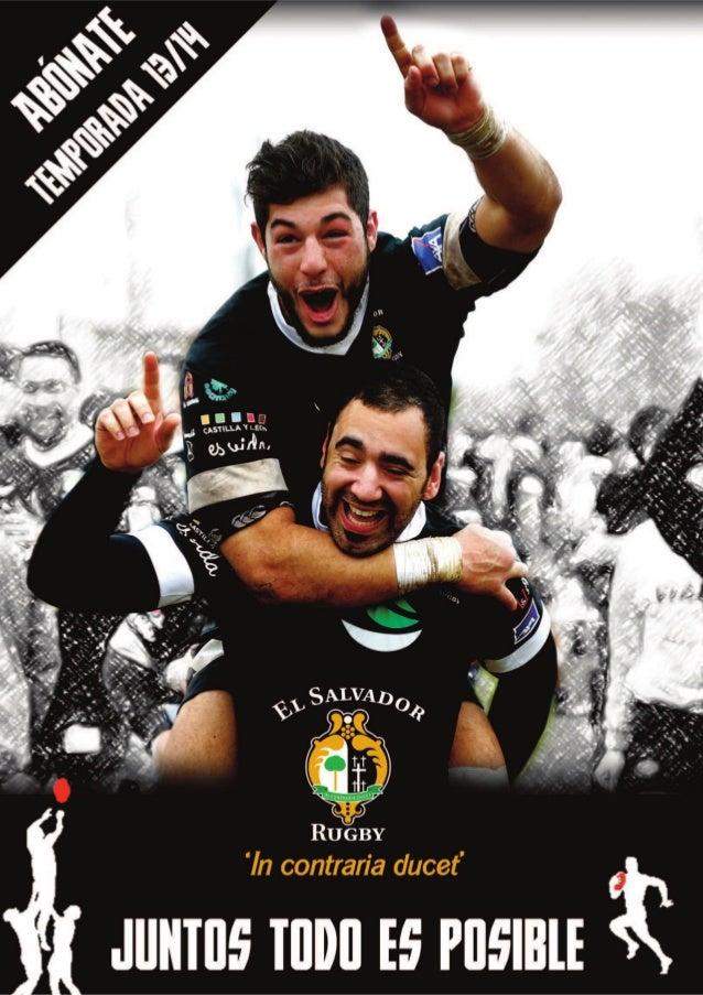 Es el momento de mirar hacia la próxima campaña del Club de Rugby El Salvador que seguro que nos brindará grandes momentos...