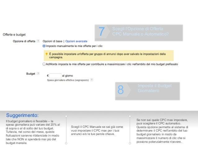 7         Scegli l'Opzione di Offerta                                                                         CPC Manuale ...