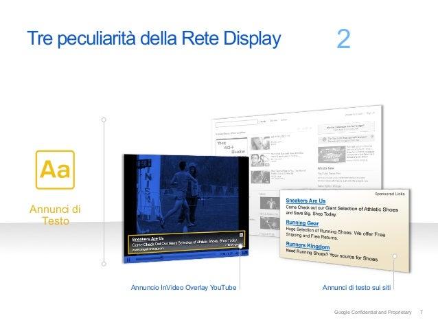 Tre peculiarità della Rete Display                  2           Varietà di formatiAnnunci di  Testo             Annuncio I...