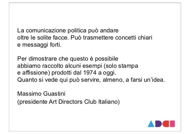 Campagne politiche ADCI Slide 2