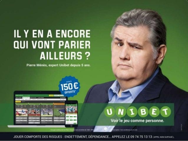 Campagne d'affichage Unibet : Voir le jeu comme personne