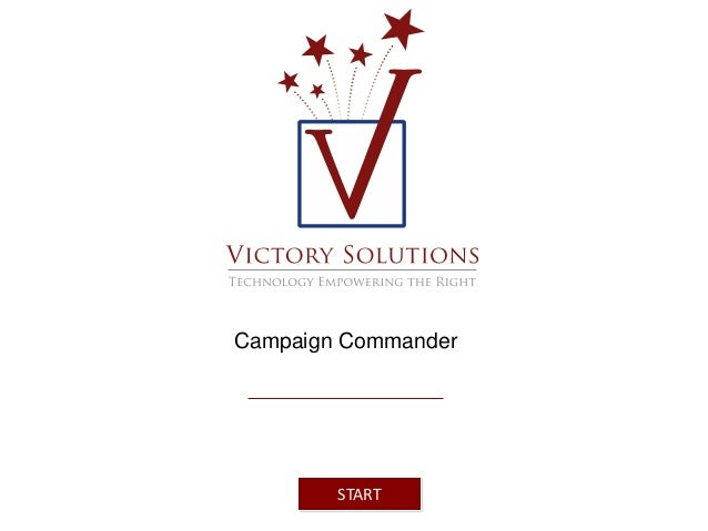 Campaign Commander  START