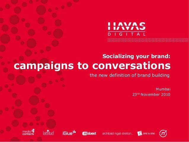 Campaigns 2 conversations Slide 3