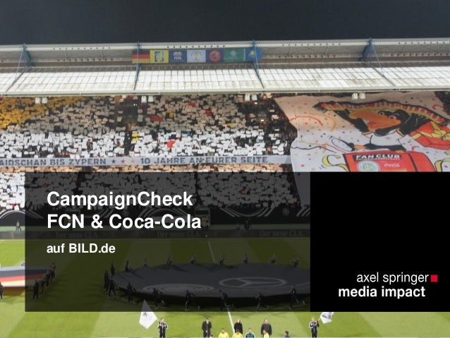 CampaignCheck FCN & Coca-Cola auf BILD.de