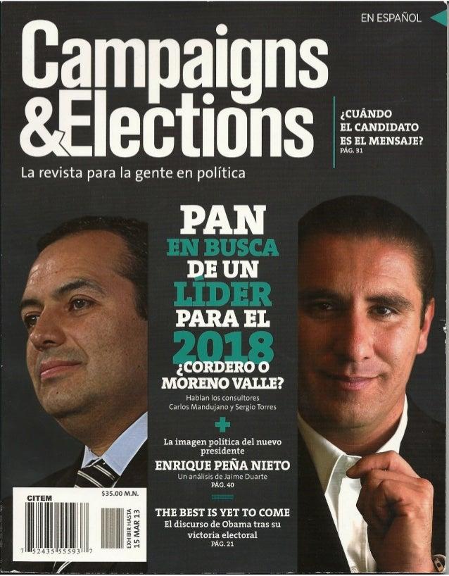 Campaign & Elections 2013. La imagen del presidente Peña Nieto