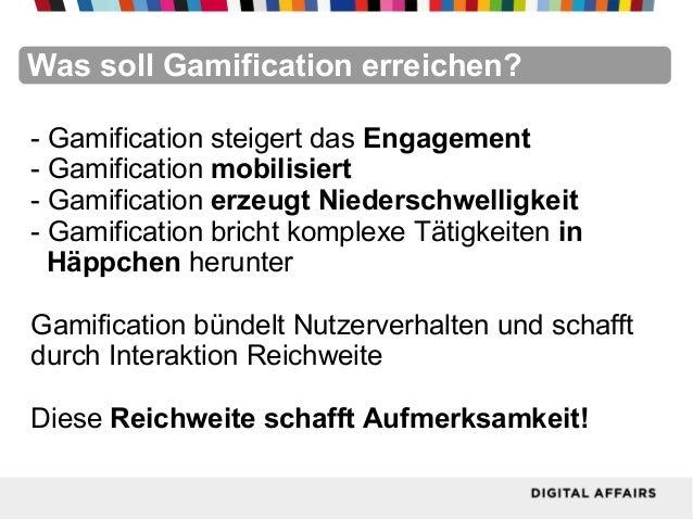 FacebookFacebookFacebookFacebookFacebookFacebookWas soll Gamification erreichen?- Gamification steigert das Engagement- Ga...