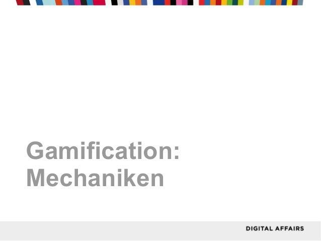 Gamification:Mechaniken