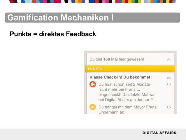 FacebookFacebookFacebookFacebookFacebookFacebookGamification Mechaniken IPunkte = direktes Feedback