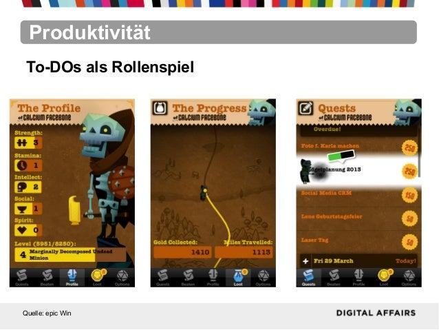 ProduktivitätQuelle: epic WinTo-DOs als Rollenspiel