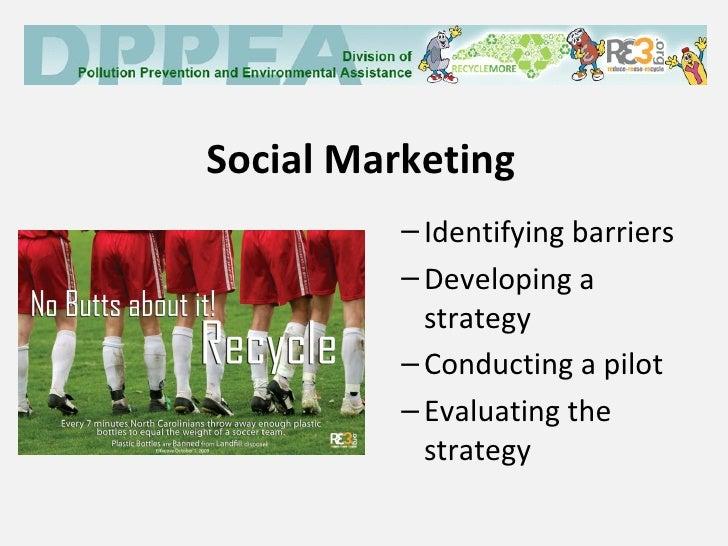 Social marketing and social media examples from NC
