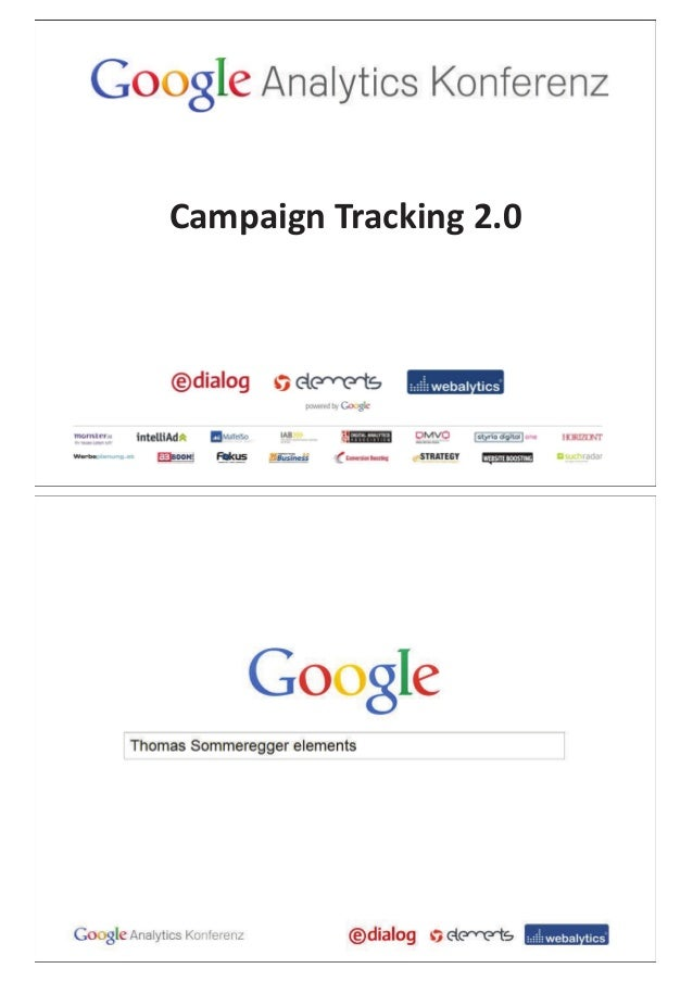 Campaign Tracking 2.0