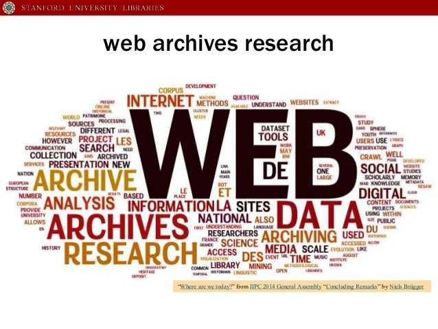 Campaign Web Archives to Support Multi-Institutional Research Slide 2