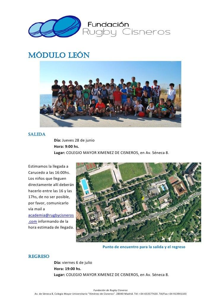 Campamento de verano de rugby cisneros 2012  (1) Slide 2
