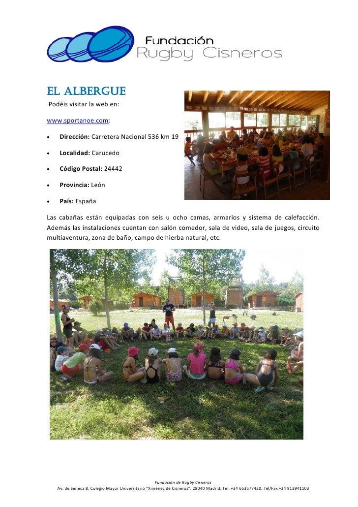Campamento de verano de rugby cisneros 2012  (1) Slide 3