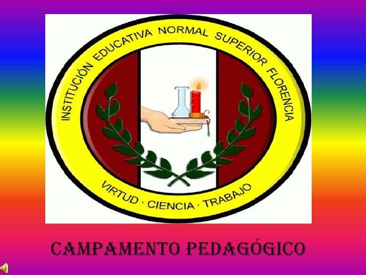 CampamentoPedagógico<br />
