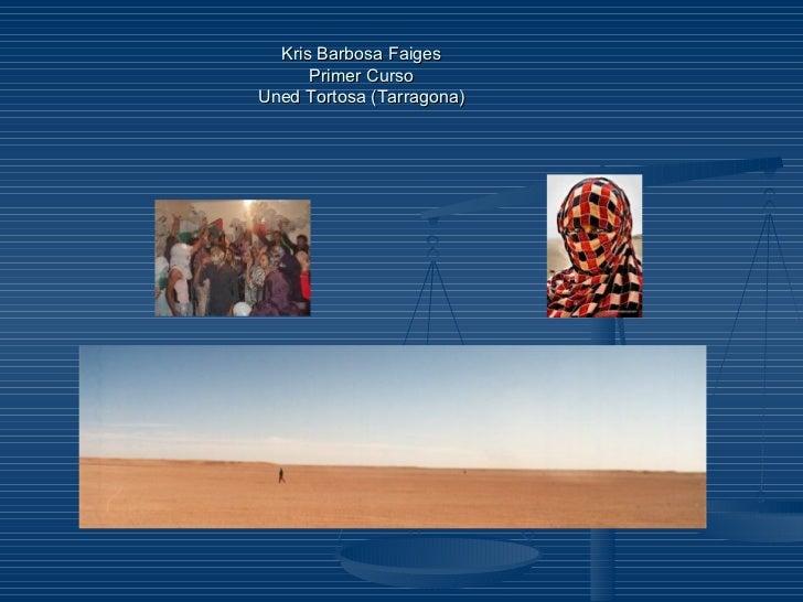 Campamentos refugiados de tinduf[ Slide 2