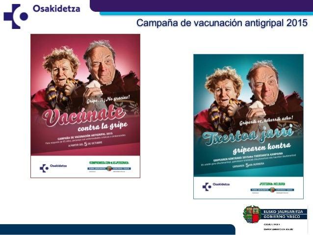 Campaña de vacunación antigripal 2015