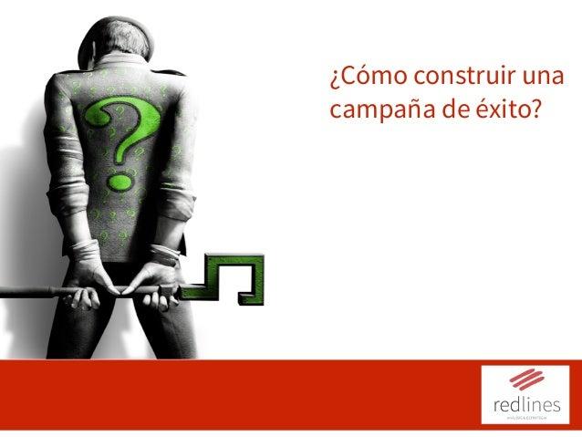 ¿Cómo construir una campaña de éxito? Operación 2: Comunicación