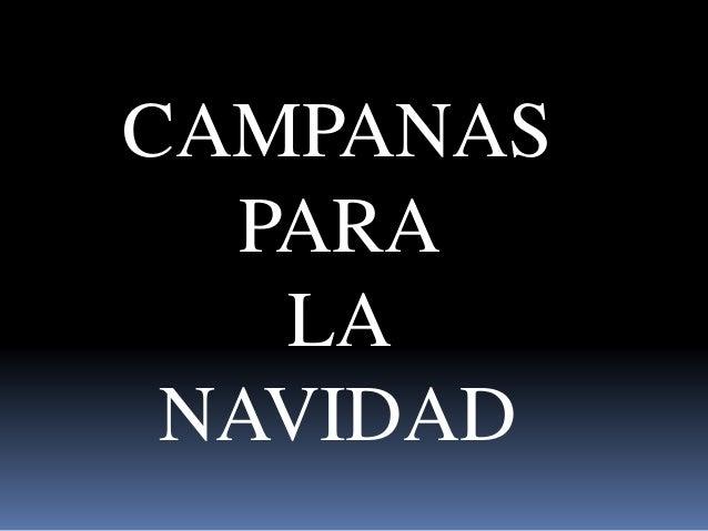 CAMPANAS  PARA  LA  NAVIDAD