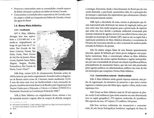 Campanha da fraternidade 2017   texto base - biomas brasileiros