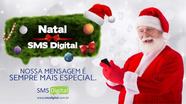 Campanha de Natal 2015 - SMS Digital