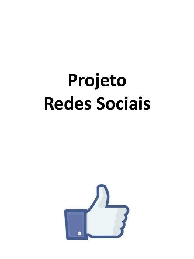Projeto Redes Sociais