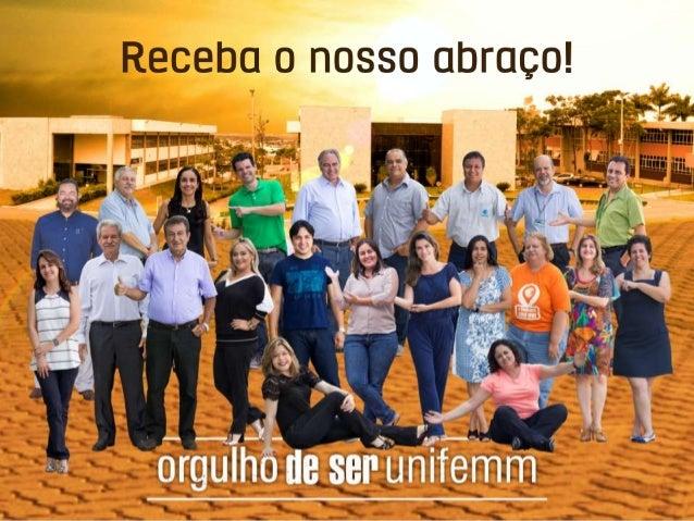 Acesse o Manual do Aluno portalaluno.unifemm.edu.br
