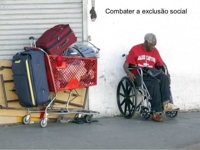 Combater a exclusão social
