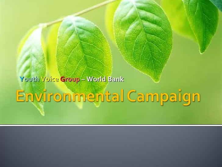Y outh   Voice   G roup  –  World Bank