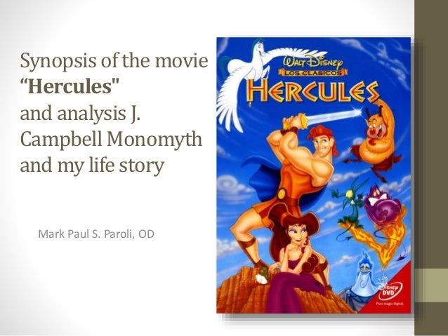 Movie Hercules And Campbell Monomyth By Mark Paul S Paroli