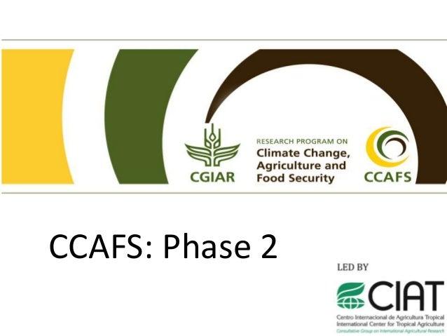 CCAFS: Phase 2